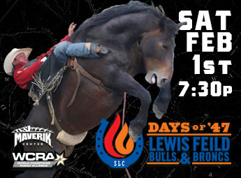 Days of '47 Lewis Feild Bulls & Broncs
