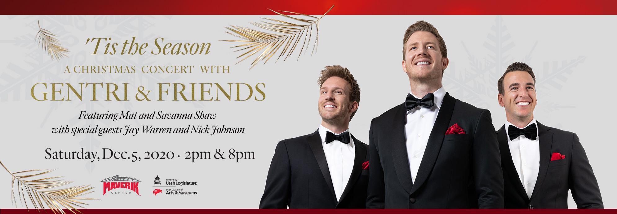 GENTRI & FRIENDS - 8:00 PM Evening