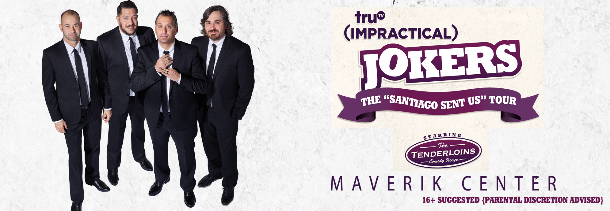truTV Impractical Jokers 'Santiago Sent Us'