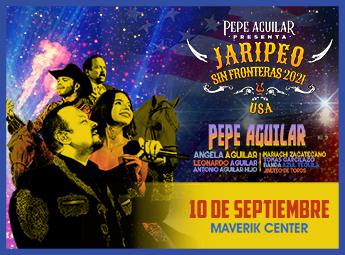 Pepe Aguilar Presenta Jaripeo Sin Fronteras