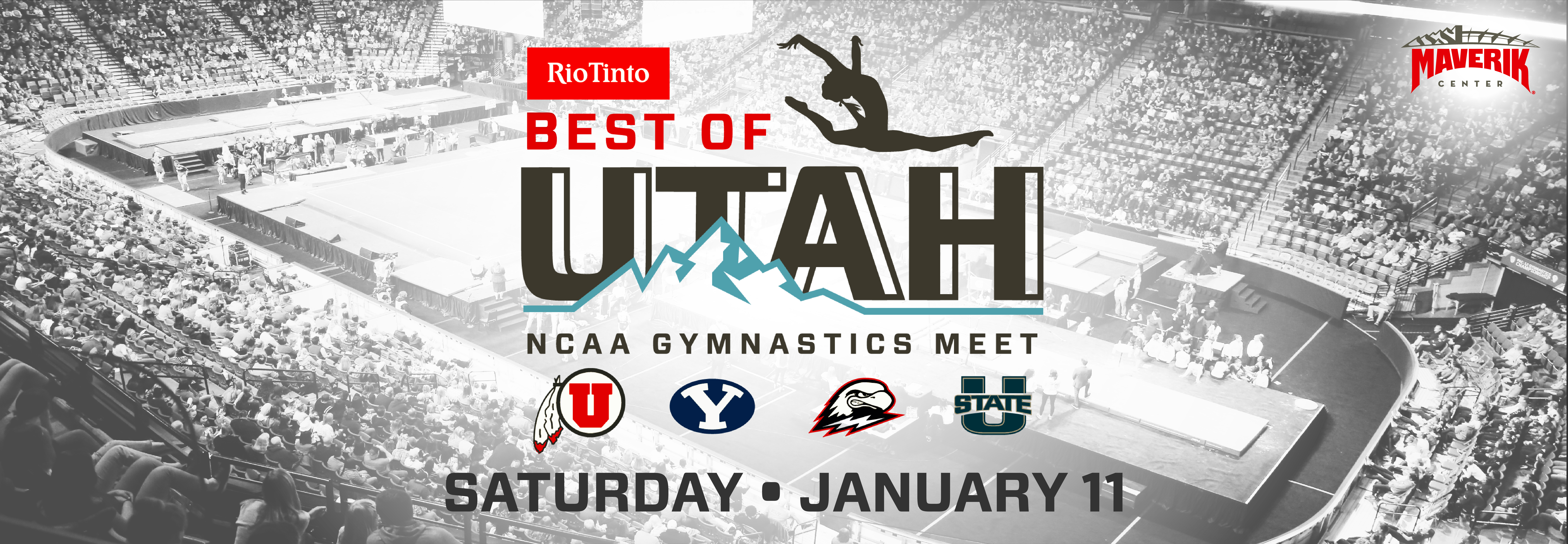 Rio Tinto Best of Utah NCAA Gymnastics Meet